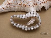 3 strand 6.5mm freshwater pearl bracelet