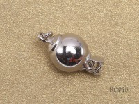 8mm Single-strand Sterling Silver Ball Clasp