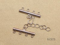 30mm Four-strand Sterling Silver Clasp