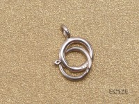 6mm Single-strand Sterling Silver Ring Clasp