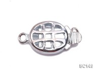 8.5*11mm Single-strand Sterling Silver Clasp