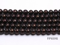 Wholesale 10x11mm  Flat Cultured Freshwater Pearl String