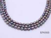Wholesale High-quality 8X12mm Rice-shaped Freshwater Pearl String