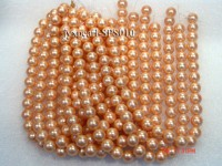 Wholesale 16mm Round Champagne Seashell Pearl String