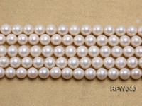 Wholesale High-quality 8-9.5mm Classic White Round Freshwater Pearl String