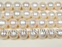 Wholesale High-quality 10-11mm Classic White Round Freshwater Pearl String