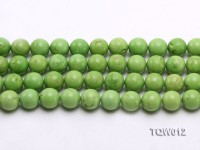 Wholesale 14mm Round Green Turquoise Beads String