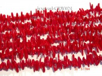 Wholesale 11-15mm Irregular Red Coral Chips Loose String