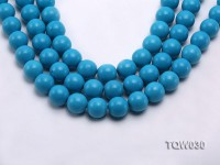 Wholesale 16mm Round Blue Turquoise Beads String