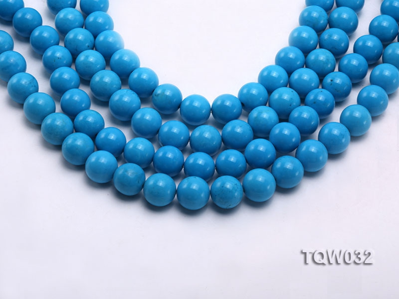 Wholesale 12mm Round Blue Turquoise Beads String