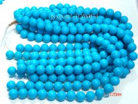 Wholesale 14.5mm Round Blue Turquoise Beads String