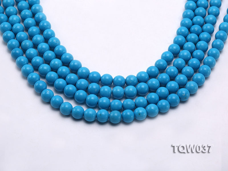 Wholesale 8.3mm Round Blue Turquoise Beads String