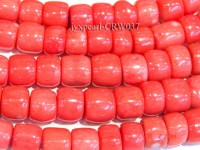 Wholesale 9-13mm Pillar-shaped Pink Coral Beads Loose String