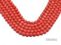 Wholesale 10mm Round Pink Coral Beads Loose String