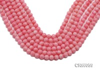 Wholesale 7.5mm Round Pink Coral Beads Loose String