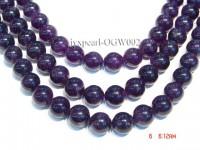 Wholesale 16mm Round Translucent Amethyst Beads String