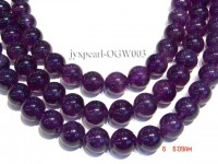 Wholesale 14mm Round Translucent Amethyst Beads String