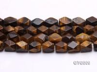 wholesale 12x17mm irregular Tigereye Strings