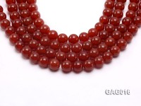 wholesale 14mm round red agate strings