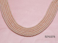 Wholesale AAAAA 5-6mm Classic White Round Freshwater Pearl String