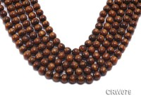 Wholesale 10mm Round Golden Coral Beads Loose String