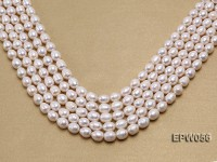 Wholesale 8.5-9.5mm Classic White Rice-shaped Freshwater Pearl String