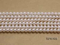 Wholesale High-quality AAAAA 6mm Classic White Round Freshwater Pearl String