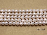 Super High-quality 10-11mm Classic White Round Freshwater Pearl String