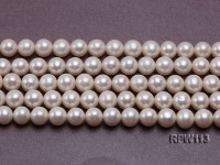 Wholesale 10mm Classic White Round Freshwater Pearl String