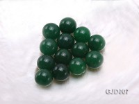 Wholesale 14mm Round Green Jade Beads
