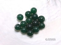 Wholesale 12mm Round Green Jade Beads