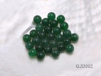 Wholesale 6mm Round Green Jade Beads