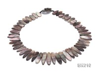 10×18-10x35mm Natural Shell Pieces Necklace