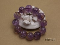 16mm Round Ametrine Beads elasticated Bracelet