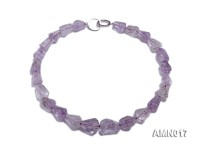 13x18mm Natural Amethyst Beads Necklace