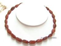 7x16mm Irregular Goldstone Necklace