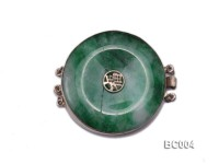 40mm Three-Row  jade clasp