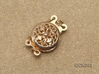 9mm Double-strand Gilded Clasp