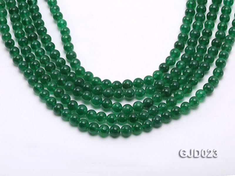 Wholesale 6mm Round Malay Jade String