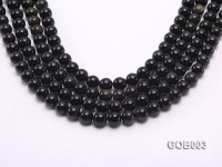 Wholesale High-quality 10mm Round Obsidian String