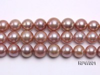 Selected AAA 13-16mm Natural Round Edison Pearl loose String