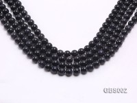 wholesale 10mm faceted round Blue Sandstone strings