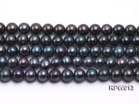 Wholesale 8-9mm Peacock Round Freshwater Pearl String