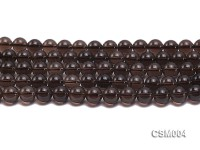 Wholesale 10mm Round Smoky Quartz Beads String