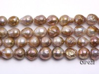 Wholesale & Retail AA-grade 11-13mm Multi-color Irregular Pearl String