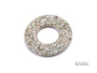 70mm Round Synthetic Resin Pieces Jewelry Accessories