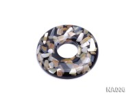 60mm Round Synthetic Resin Pieces Jewelry Accessories