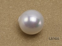 Wholesale 10-10.5mm White Round Seashell Pearl Bead
