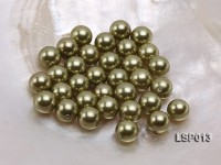 Wholesale 10mm Black Round Seashell Pearl Bead