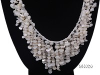 5-8mm White Shell Necklace